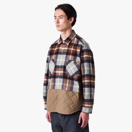 Comme des Garçons Homme  Wool Check Shirt