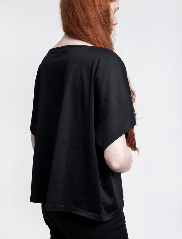 Acne Studios Womens Susanna M Cot Black