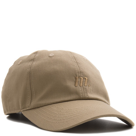 MANASTASH UNCLE'S GARMENT DYED HEMP TWILL CAP - KHAKI