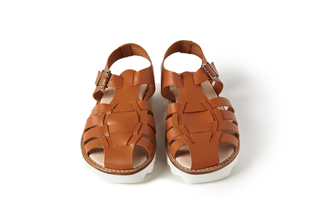 Sonatina Bobo-Cognac-Leather-Sandals