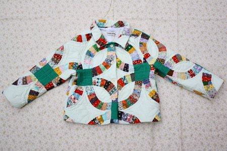 Carleen Beau Raglan Quilt Jacket - Print