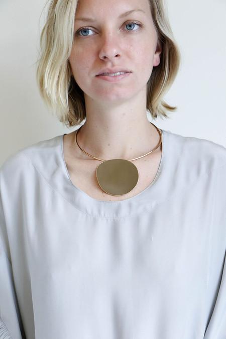 Faris Pendo Collar in Bronze