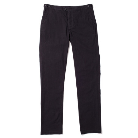 Corridor Seersucker Trousers - Black