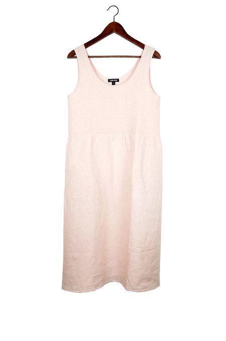 Ilana Kohn Haley Dress, Blush, Washed Linen