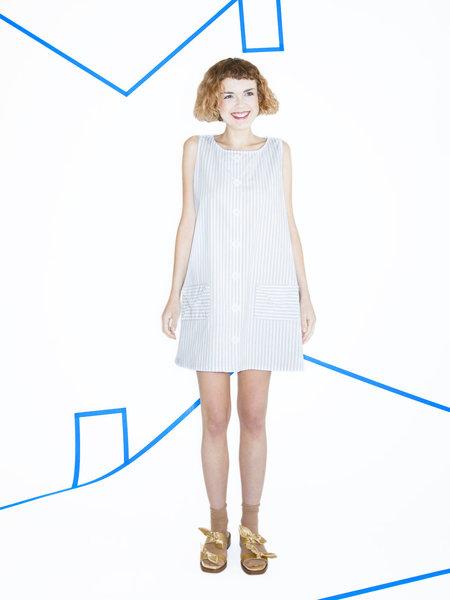 Samantha Pleet Trapeze Dress