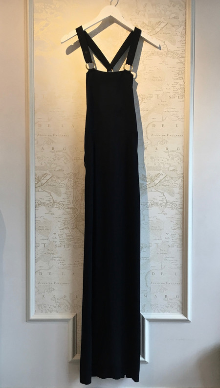 A.L.C. 'Campos' Overall Long Dress with Back Pockets