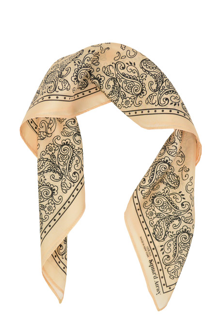 Squar'd Away The Badlands Scarf - cream