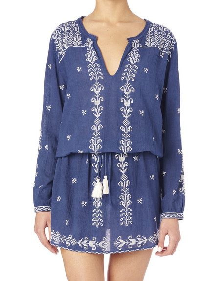 Star Mela Ala Embroidered Dress