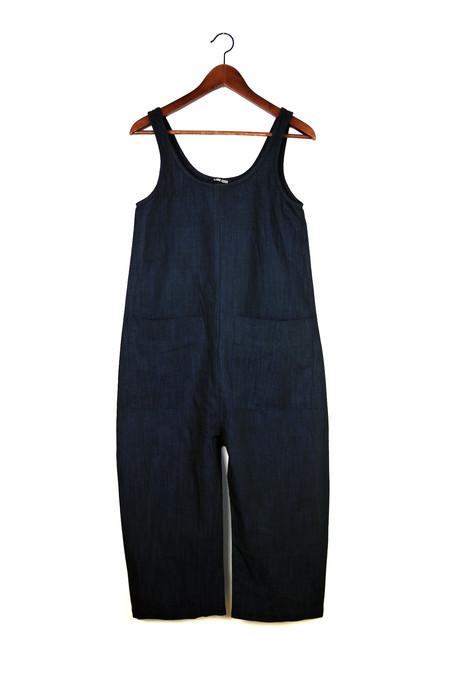 Ilana Kohn Gary Jumpsuit, Deep Indigo, Cotton Linen
