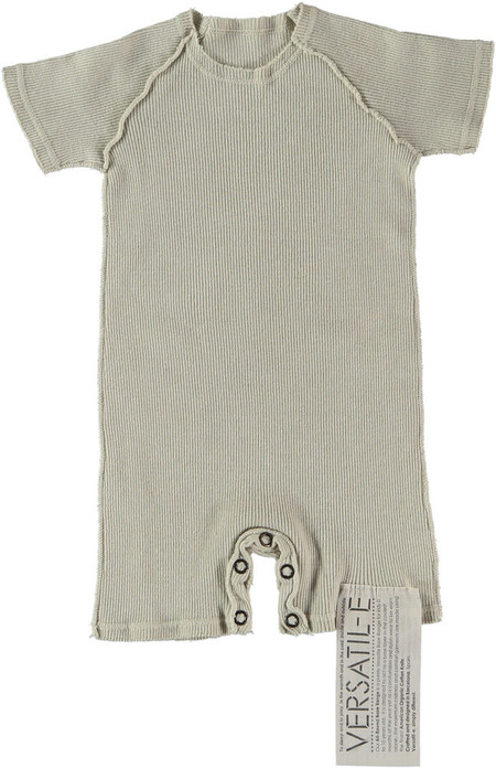 Kid's Versatil-e Short Sleeve Double Knit Baby Onesie