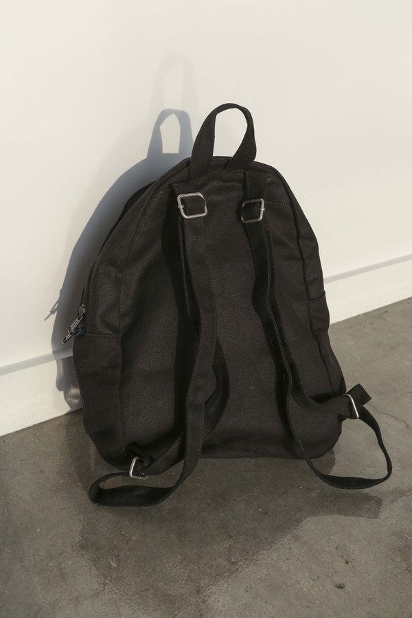 BAGGU Zip Backpack in Black