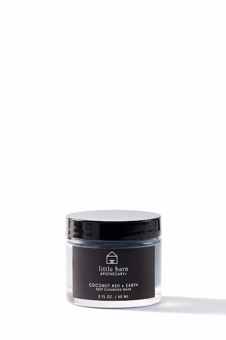 Little Barn Apothecary Coconut Ash + Earth Deep Cleansing Mask