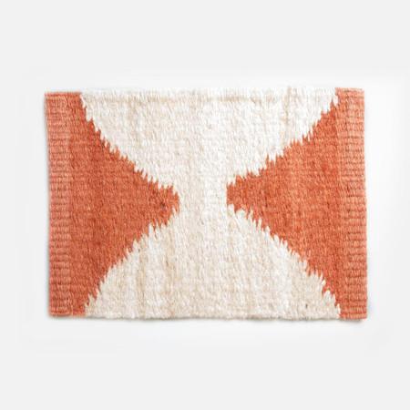 Someware Kamali Door Mat - Orange & Nude