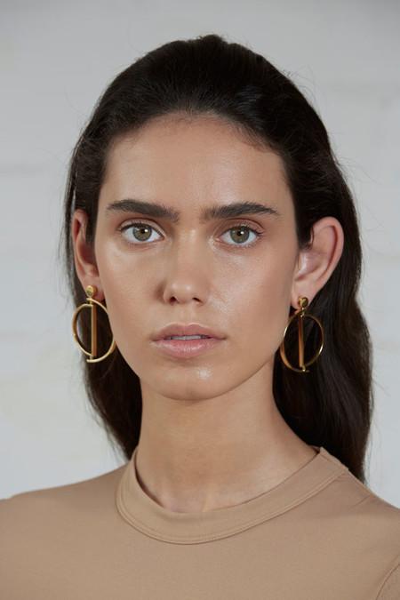 Luz Ortiz New York Gold Movil Earrings