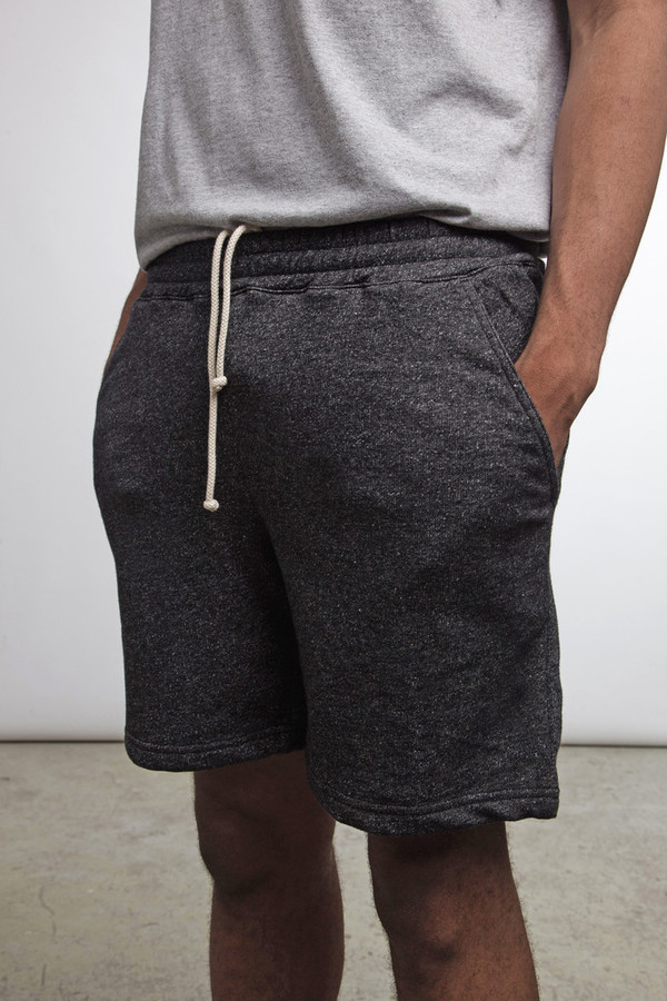 MUTTONHEAD / Roamer shorts - charcoal