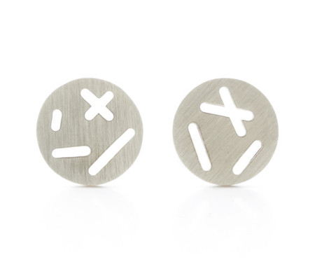 Camillette Random Silver Stud Earrings