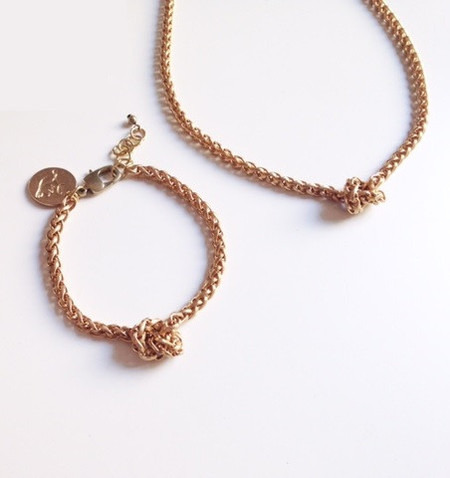 Liana Marie Forget Me Knot Necklace
