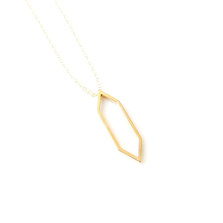 Matters of Delight - Circa Necklace Gold