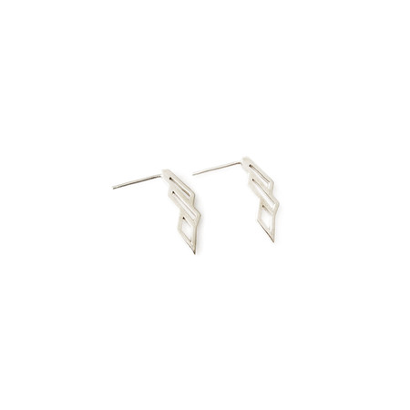 Matters of Delight - Volo Earrings Silver