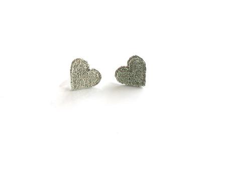Sarah Ana Designs Heart Lace Studs