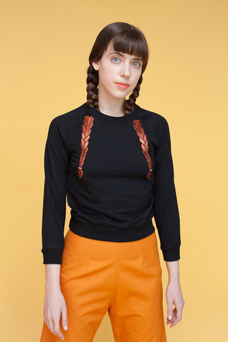 Samantha Pleet Braid Shirt