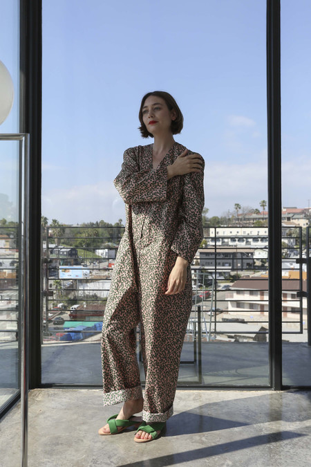 A Détacher Ornella Jumpsuit in Trees Print