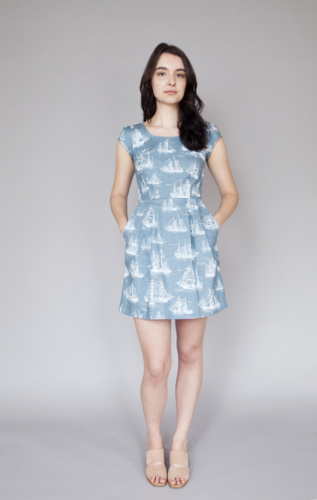 Birds of North America Waterthrush Dress