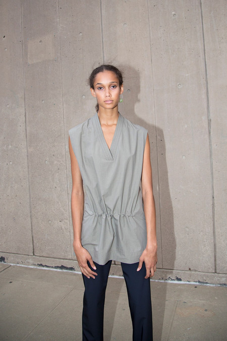 Nomia Sleeveless Tunic - Stone