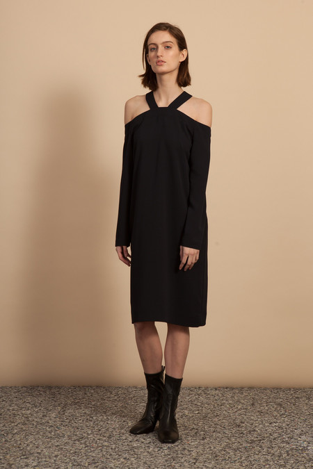 Nomia Trestle Dress - Black
