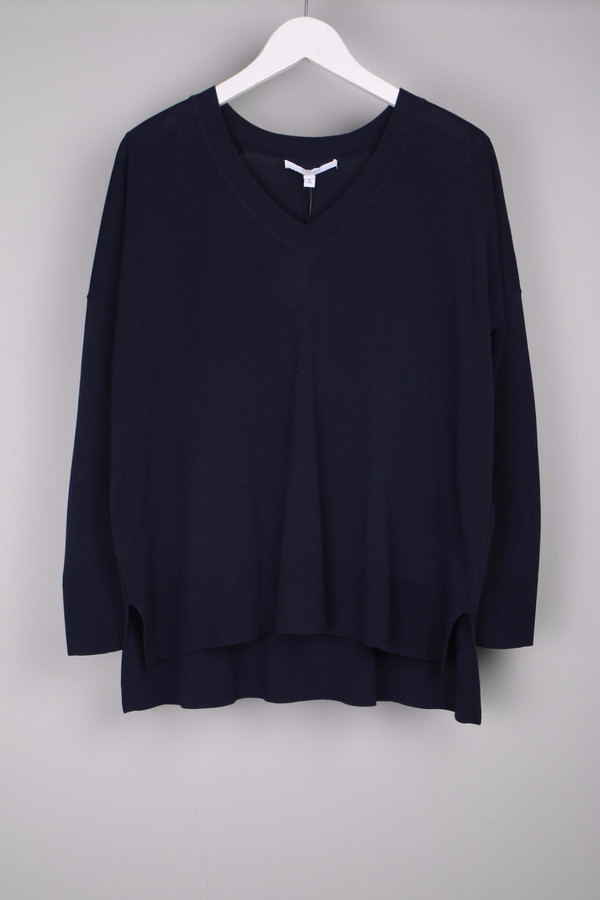 10 Crosby Long Sleeve Oversized V-Neck