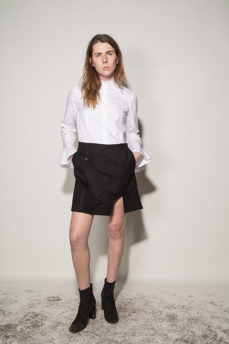 Kahle Snap Front Skirt