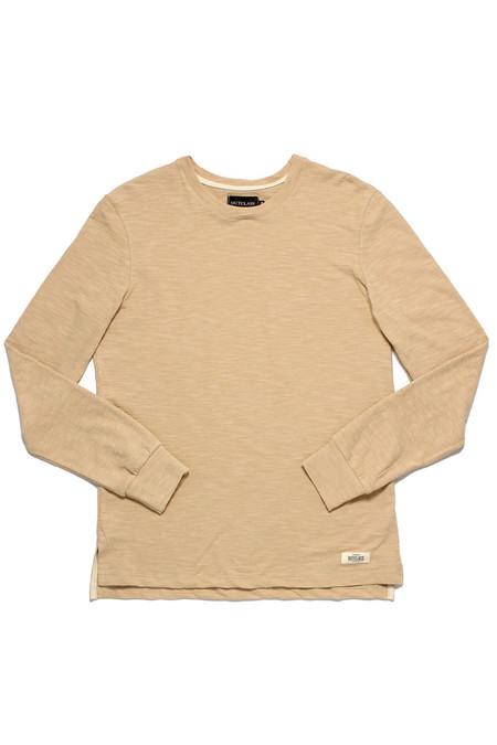 Outclass Slub Knit L/S T-Shirt  Sand