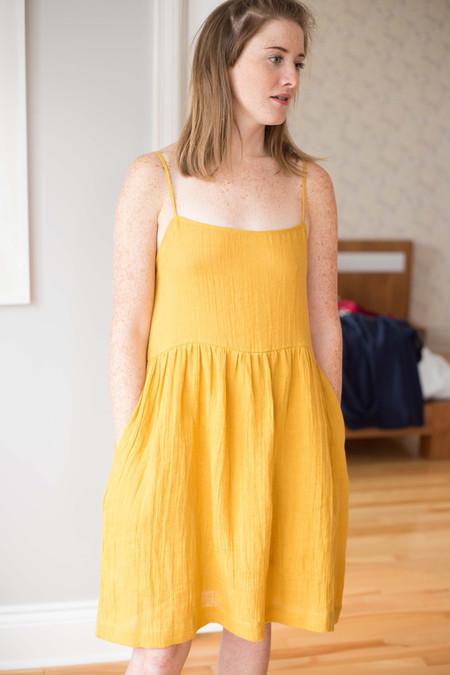 Amanda Moss Maisy Dress (Golden)