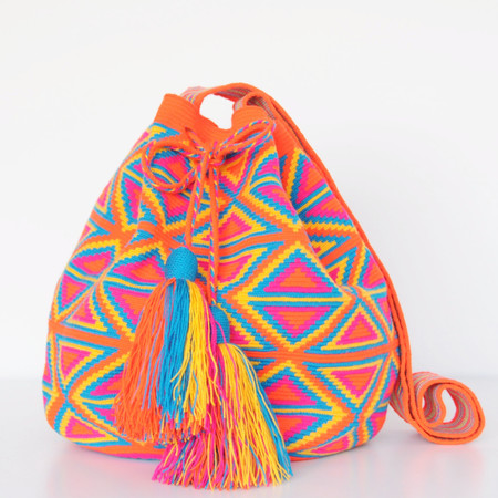 Shop Mariya Neon Multicolor Mochila - XL