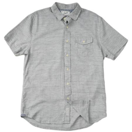 Grayers Heather Herringbone Twill Shirt
