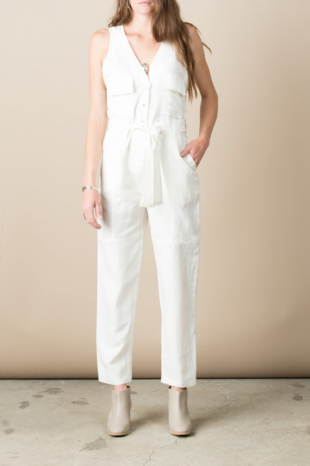 Rachel Comey First Mate's Suit In Ivory