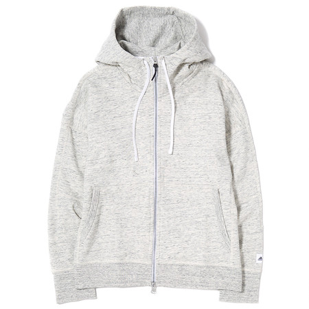 ADIDAS X REIGNING CHAMP FTFZ HOODY - HEATHER WHITE