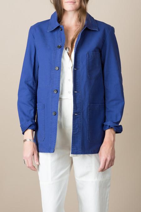 Vetra Woven Jacket in Hydrone Blue