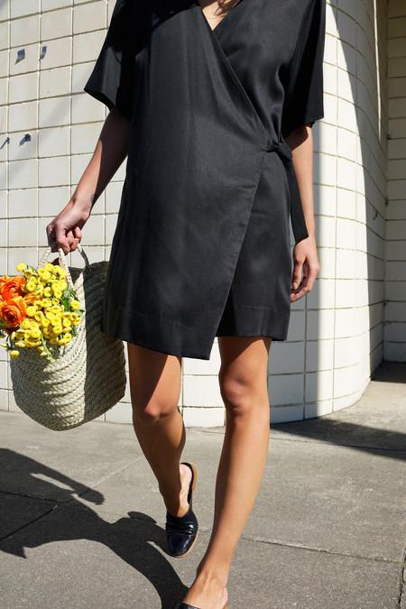 Waltz Studio Kimono Wrap Dress