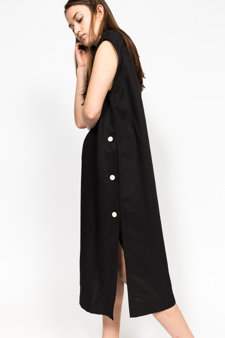 Studio Nicholson Rico Dress - BLACK