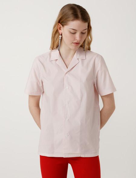 niuhans Typewriter Shirt Botanical Dye Pink