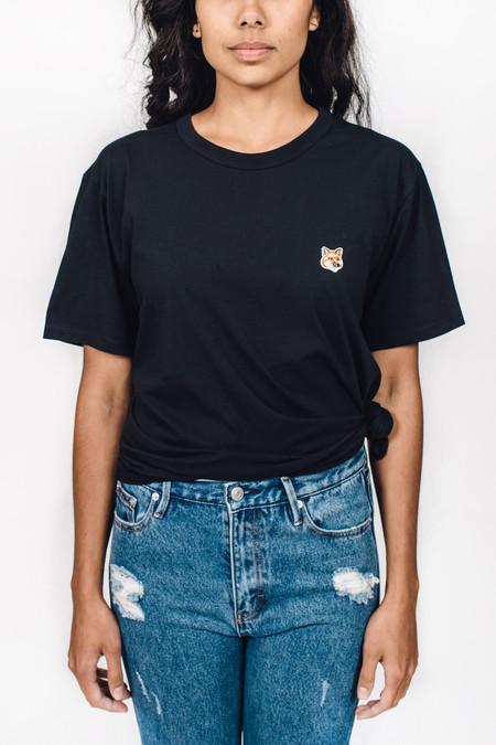 Maison Kitsune Tee Shirt Fox Head Patch