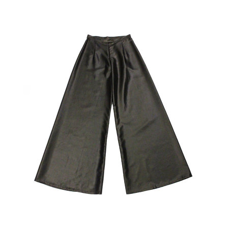 Kaarem Mollis Black Song Tu Wide Leg Pants