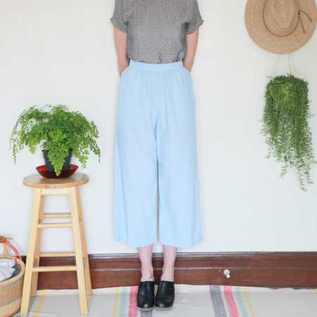 Me & Arrow Wide Pants - Sky