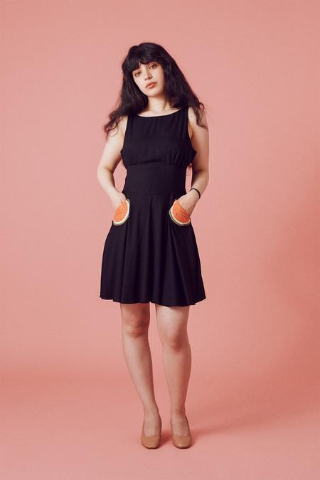 Samantha Pleet Welkin Dress - Black
