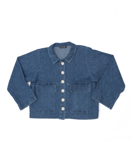 Ilana Kohn Mabel Crop Jacket, Denim