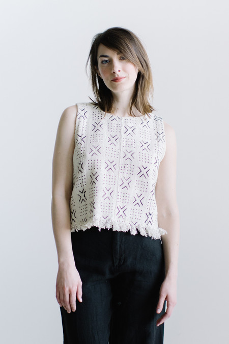 WINSOME Mudcloth Top