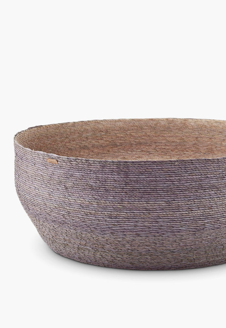 Far & Wide Collective Light Gray Nido Basket