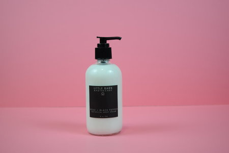 Little Barn Apothecary Rose + Black Pepper Botanical Body Cream