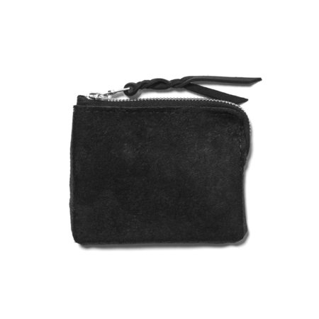 Maple Half Zip Wallet Black